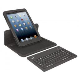 Etui-clavier Urban Factory pour iPad mini : Folio avec clavier Français Bluetooth intégré