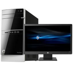 Ordinateur de bureau HP Pavilion 500-530nkm avec écran HP LED W2072a 20 pouces (L0W59EA)