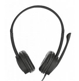 Casque stéréo de haute qualité avec micro Trust Mauro USB Headset (17591)