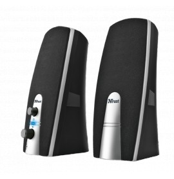 Haut-parleurs multimédia stéréo Trust MILA 2.0 - USB 10 Watts (16697)