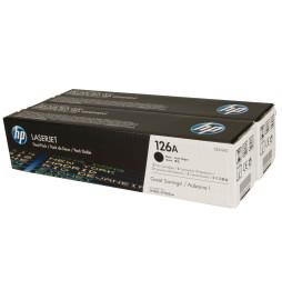 Cartouches de toner noir HP LaserJet 126A (lot de 2) (CE310AD)