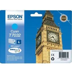 Cartouche Epson Big Ben d'encre cyan (C13T70324010)