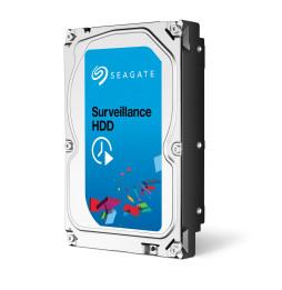 """Disque dur 3.5"""" Seagate Surveillance HDD 6 To (+Rescue) pour NAS vidéosurveillance - 7200 tr/min"""