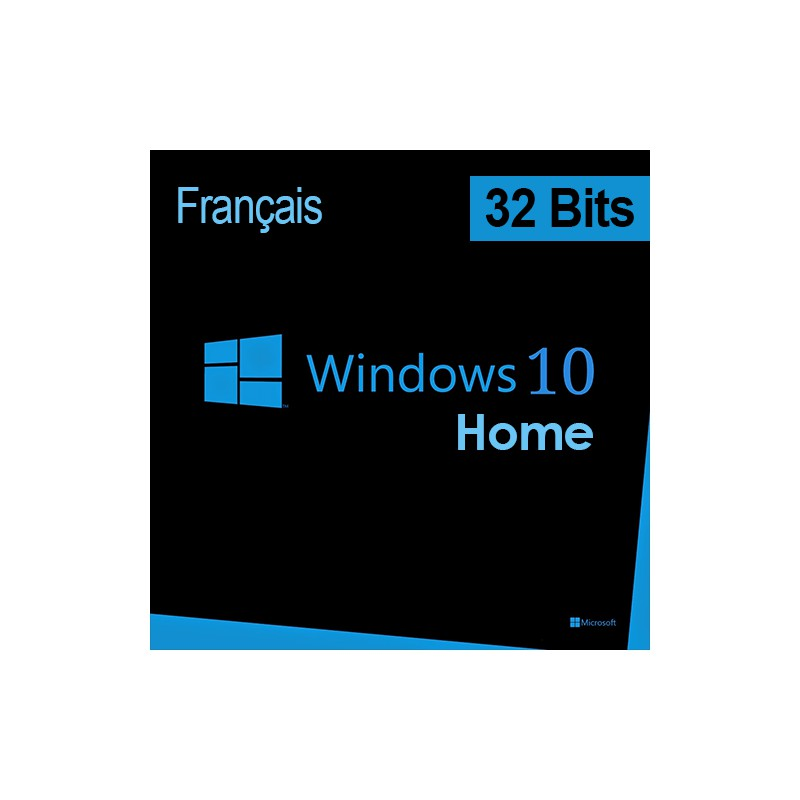 Microsoft windows 10 home 32 bits fran ais dsp oei for Microsoft windows 10 home