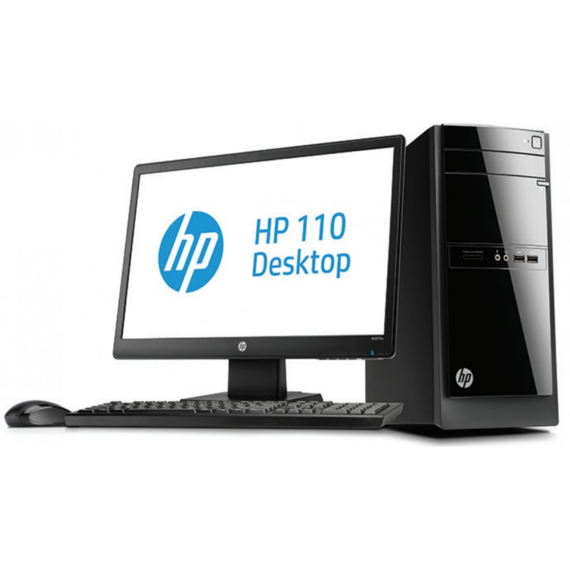 ordinateur de bureau hp pavilion 500 desktop pc 500 425nkm avec cran led hp w2072a 20 iris. Black Bedroom Furniture Sets. Home Design Ideas