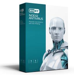ESET NOD32 Antivirus - 1an / 3 postes