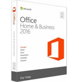 Microsoft Office Home and Business 2016 pour Mac - Français