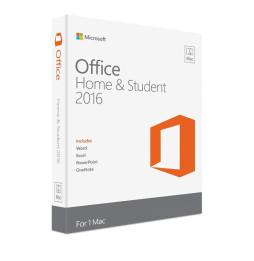 Microsoft Office Home and Student 2016 pour Mac - Français (Code d'activation)