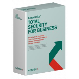 Kaspersky Total Security for Business - Renouvellement 1 an
