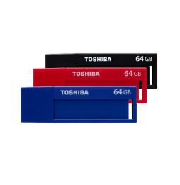 Clé USB Toshiba TransMemory U302 avec les étiquettes inscriptibles - USB 3.0