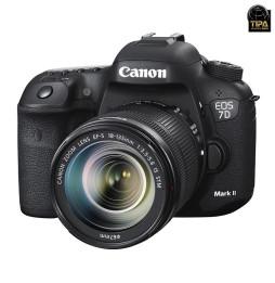 Reflex EOS 7D Mark II + Objectif Canon EF-S 18-135mm f/3.5-5.6 IS STM