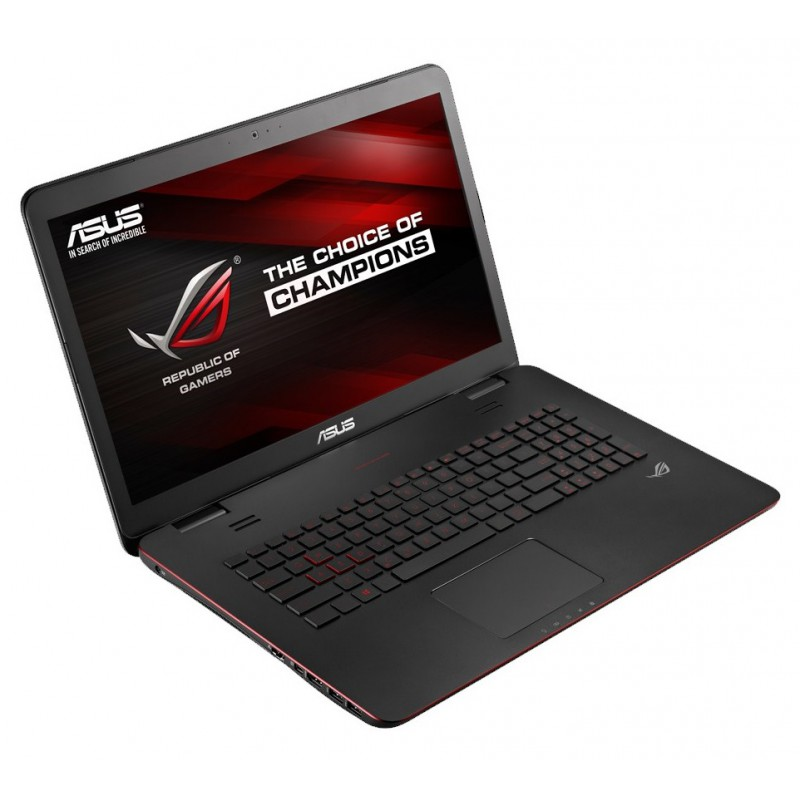 pc portable gaming asus rog g series g771jw t7210t avec un. Black Bedroom Furniture Sets. Home Design Ideas