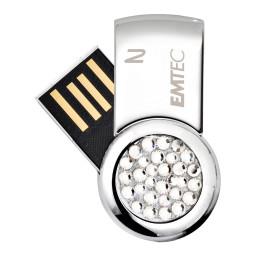 Mini Clé USB 2.0 Emtec S350 pour Elle - 4 GB