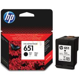 Cartouche Ink Advantage authentique HP 651 noir (C2P10AE)