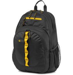 Sac à dos de sport HP 15.6 noir/jaune (F3W17AA)
