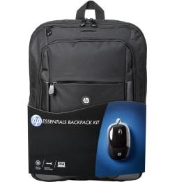Sac à dos Kit HP Essentials (16 pouces) avec souris (E5L03AA)