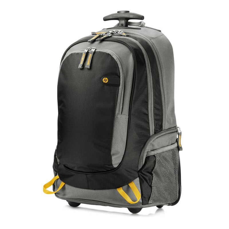 sac roulette hp 15 6 rolling backpack j6x32aa iris. Black Bedroom Furniture Sets. Home Design Ideas