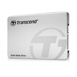 "Disque SSD 2.5"" Transcend Interne SATA III Aluminum (Flash MLC)"