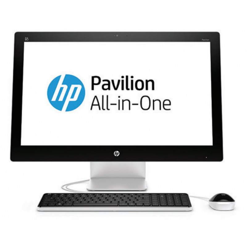 ordinateur tout en un hp pavilion all in one 27 n100nk p1h53ea maroc. Black Bedroom Furniture Sets. Home Design Ideas