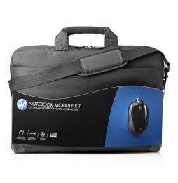 """Kit HP Sacoche pour Notebook 16""""(40cm) avec souris USB (H6L24AA) - Noir"""