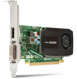 Carte graphique DL-DVI+2xDP NVIDIA Quadro K2000 2 Go (C2J93AA)