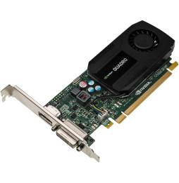 Carte Graphique Nvidia Quadro K600 1Go DDR3 DL-DVI+DP (C2J92AA)