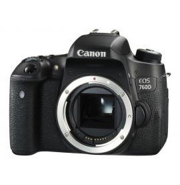 Reflex Canon EOS 760D Boîtier Nu