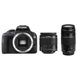 Reflex Canon EOS 100D + Objectif 18-55mm DC III + Objectif 75-300mm DC III