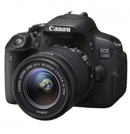 Reflex Canon EOS 700D + Objectif 18-55 DC