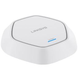 Point d'accès Wi-Fi Linksys 2.4GHZ N300 avec PoE et 2 antennes PoE (Montage au plafond)