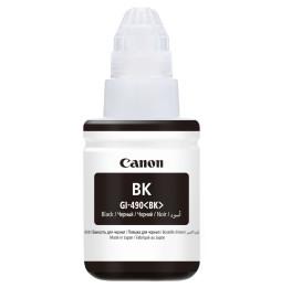Canon GI-490BK Noir - Bouteille d'encre Canon d'origine (0663C001AA)