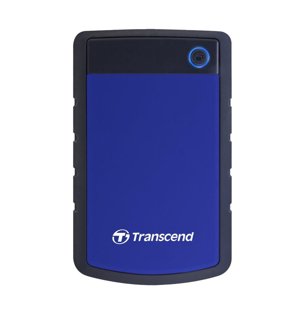 Disque dur USB 3.0 externe Anti-choc portable Transcend Storejet 2TB