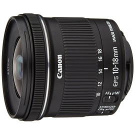 Canon objectif EF-S 10-18mm f/4.5-5.6 IS STM