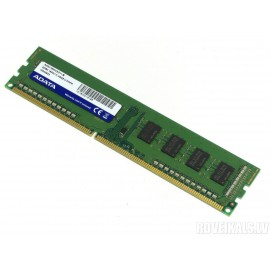 Barrete mémoire RAM ADATA DDR3 1600 240Pin Unbuffered DIMM pour Ordinateur de bureau