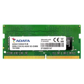 Barrete mémoire RAM ADATA DDR4-2133 288Pin Unbuffered-DIMM pour ordinateur de bureau