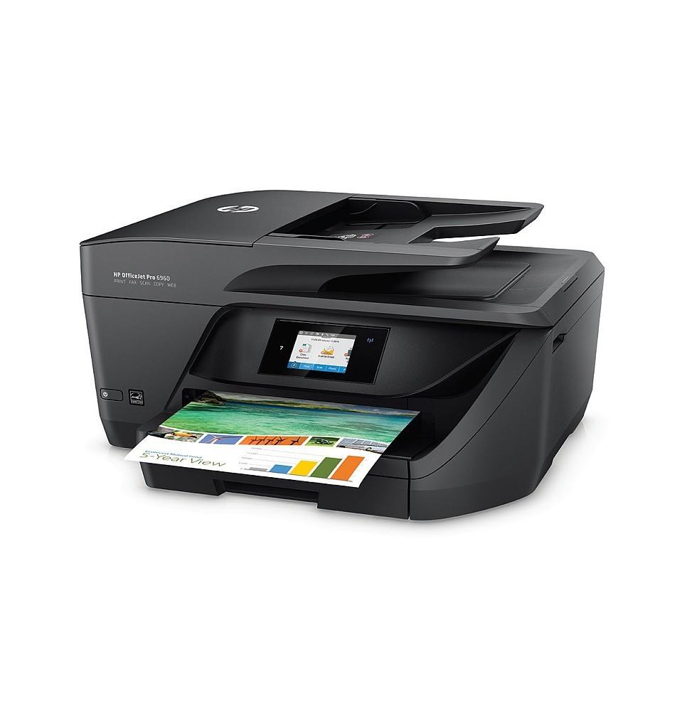 Imprimante Wi-Fi Couleur Jet d'encre tout-en-un HP Pro 8710 (D9L18A)