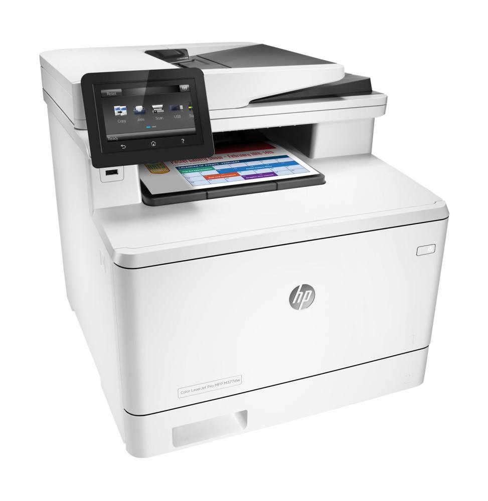 Imprimante Multifonction Laser Couleur HP LaserJet MFP M477fdw (CF379A)