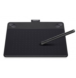 Tablette graphique Filaire créative tactile et à stylet Wacom Intuos Art Small