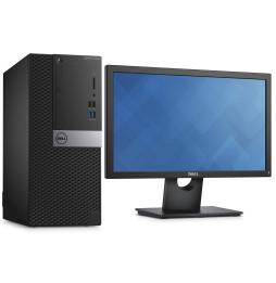 Ordinateur de bureau Dell OptiPlex (3040) 3000 Series MT avec écran 19 pouces