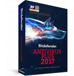 Bitdefender Antivirus Plus 2016 - 1 an / 3 postes (Version Boîte avec DVD)