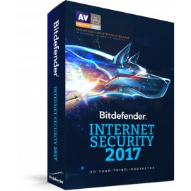 Bitdefender Internet Security 2017 - Version Boîte avec DVD
