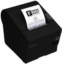 Imprimante étiquettes réseau Epson TM-T88V (654): Ethernet UB-E04, PS, EDG, Buzzer, EU