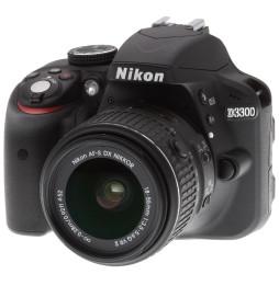 Reflex Nikon D3300 + Objectif AF-S DX Nikkor 18-55mm f/3.5-5.6G VRII (0018208936779)