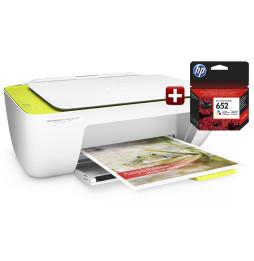 Imprimante tout-en-un HP DeskJet Ink Advantage 2135 + Cartouche HP 652 Tri-couleur Offerte