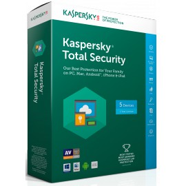 Kaspersky Total Security 2017 Multi-Devices - 5 postes