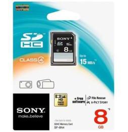 Carte SONY SDHC 8GB CLASS 4