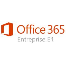 Abonnement Microsoft Office 365 Entreprise E1 - Licence (1 an/ 1 utilisateur)