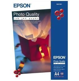Papier Epson Couché Qualité Photo A4 (100 feuilles)