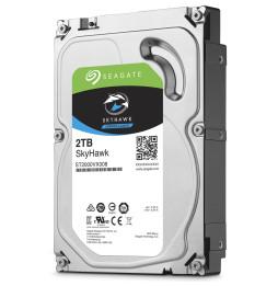 "Disque dur interne Seagate SkyHawk - 3.5"" 7200 RPM 64 Mo SATA 6 Gb/s pour Vidéosurveillance"