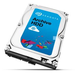 """Disque dur 3.5"""" Seagate Surveillance HDD 6 To - 7200 RPM 128 Mo pour NAS vidéosurveillance"""